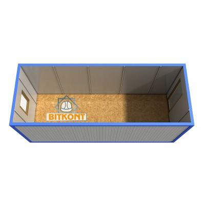 Блок-контейнер БК01 с утеплением 50мм мин.вата.