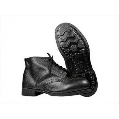 Ботинки юфть/кирза, литье (без мягкого канта) М-485